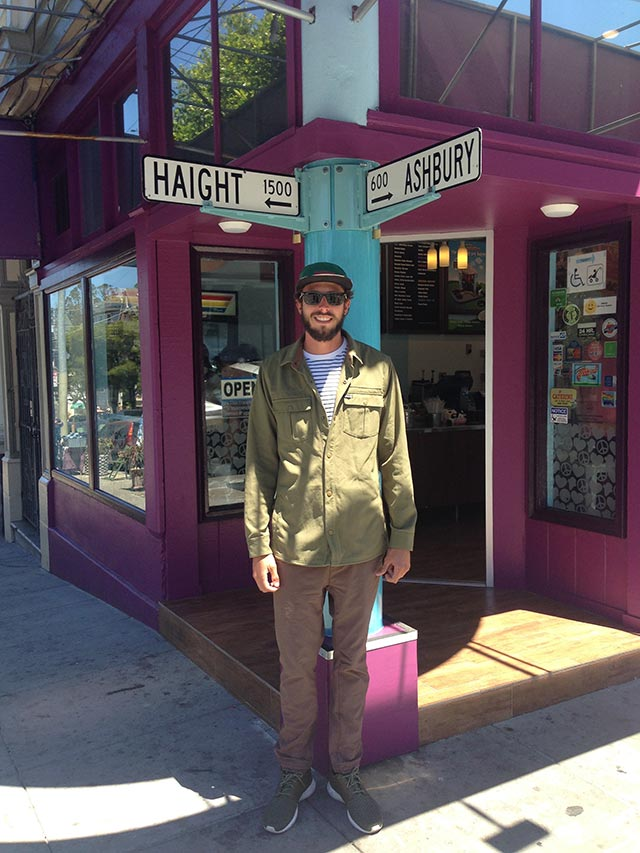 Crossroads of Haight and Ashbury